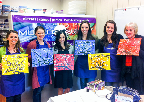 Girls Night Out Paint Parties