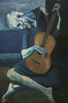 Picasso's Blue Period Example
