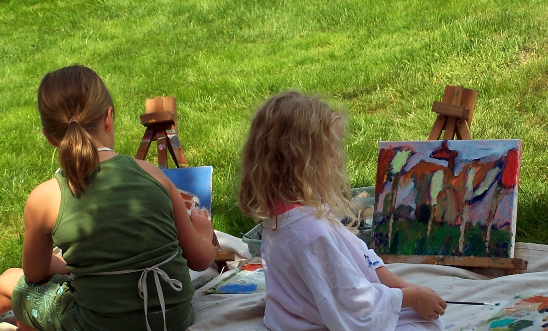 Summer Camps Painting